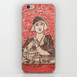 Paris Cafe iPhone Skin