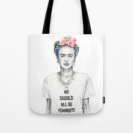 FRIDA KAHLO - The Ultimate Feminist Tote Bag