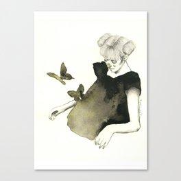 Le Farfalle Nello Stomaco Canvas Print