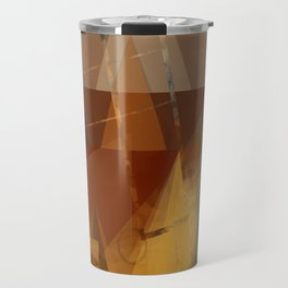 Mountains And The Sea Travel Mug