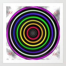 Sacred-Symmetry: Tunnel Of Love  Art Print