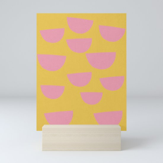 Petals (Pink on Mustard) by wowwow