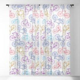 Bicycle - Vintage 12 Sheer Curtain