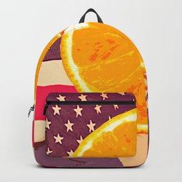 Orange for President Backpack