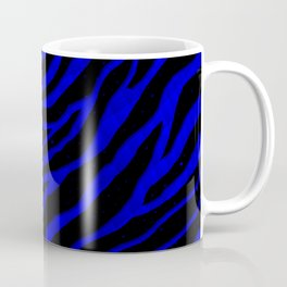 Ripped SpaceTime Stripes - Blue Coffee Mug