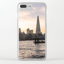ArtWork London UK The Shard Photo Art Clear iPhone Case