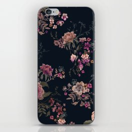 Japanese Boho Floral iPhone Skin