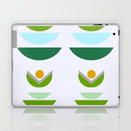 Minimal modern flowers Laptop & iPad Skin
