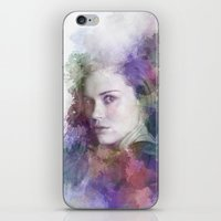 lydia martin iPhone & iPod Skins featuring Lydia Martin by NKlein Design