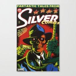 Silver Comics #6, 2006 Canvas Print
