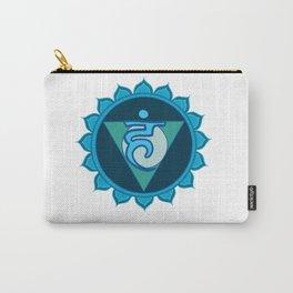 Vushuddha Throat Blue Chakra Carry-All Pouch