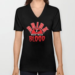 Blood Brand Blood Unisex V-Neck