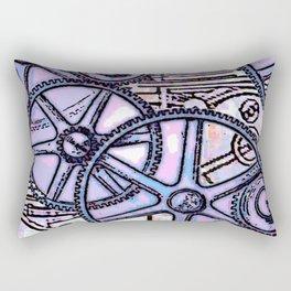 Steampunk Gearwheels Rectangular Pillow