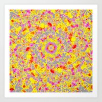 psychedelic Art Prints featuring Psychedelic by Sandra Arduini