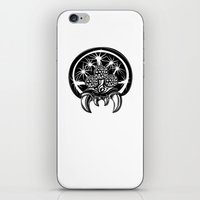 metroid iPhone & iPod Skins featuring Metroid by Barrett Biggers