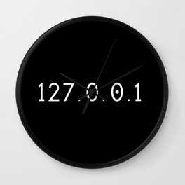 IP address - 127.0.0.1 Wall Clock