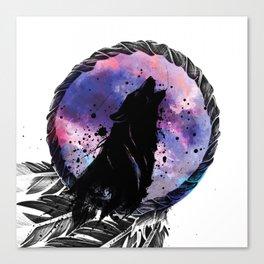 Wolf Dream Canvas Print