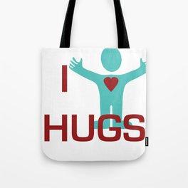 I heart Hugs Tote Bag