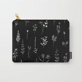 Black wildflowers Tasche