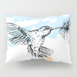 Hummingbird print Pillow Sham