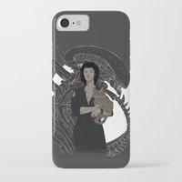 xenomorph iPhone & iPod Cases featuring Alien by Vaahlkult