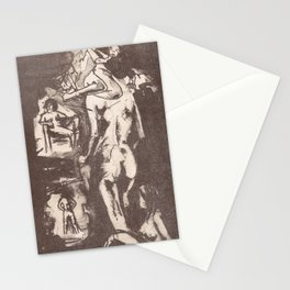 Six views of Amy Stationery Cards