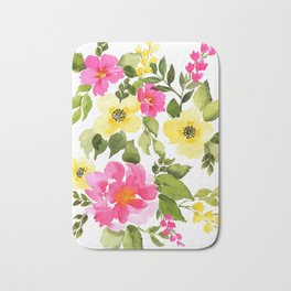 Pink and Yellow, Pink and Yellow Bath Mat