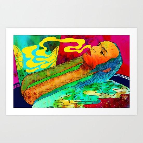"""""""Lux"""" by Steven Fiche Art Print"""