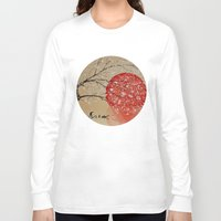 japan Long Sleeve T-shirts featuring Japan by Japan Art