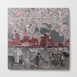 baltimore city skyline abstract Metal Print