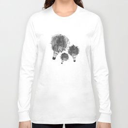 Splash of black Long Sleeve T-shirt