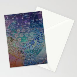 Dark Nexus Stationery Cards