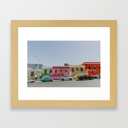 Road to Bo-Kaap Framed Art Print