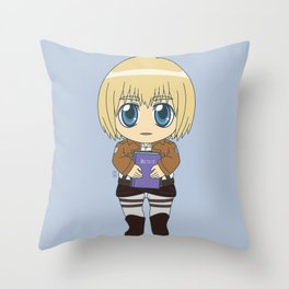 Shingeki no Kyojin - Chibi Armin Flats Throw Pillow