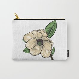 White Flower of Quince Tree Carry-All Pouch