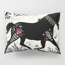 Folk Unicorn Pillow Sham