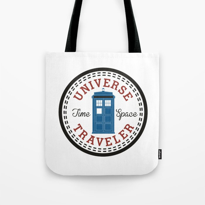 Doctor Who Converse Time Traveller Tote Bag by nokeek  9e59bed535295