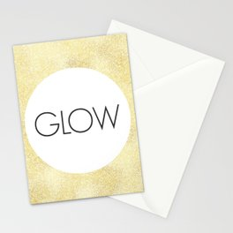 Just Glow - One Little Word Stationery Cards