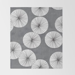 Umbrellas by Friztin Throw Blanket