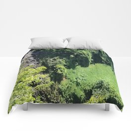 Rainforest From Above Comforters