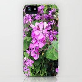 Flower Findings iPhone Case