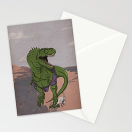 Hulkasaurus Rex - Superhero Dinosaurs Series Stationery Cards