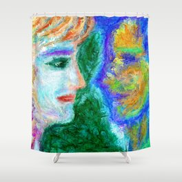 Here's to looking at you Shower Curtain