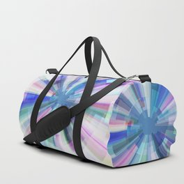 Explosion of Blue Gravity Duffle Bag