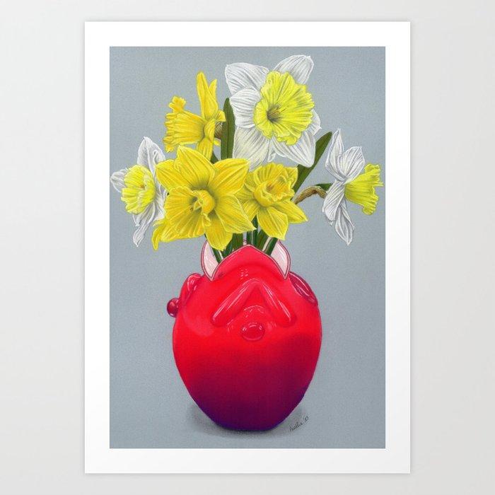Narcissuses Art Print