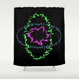 1980s DNA Shower Curtain