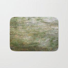 Green Wood Bath Mat
