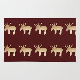 Reindeer queues #decor #buyart Rug