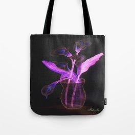 Physodelic Calla Lilies Tote Bag