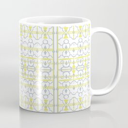 Yellow Batik Coffee Mug
